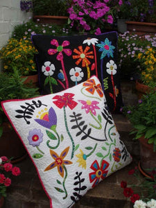 Bugs and Blooms Cushion