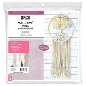 Macrame Wall Hanging Kit - Palm Tree