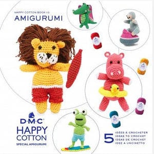 DMC Happy Cotton Amigurumi Books