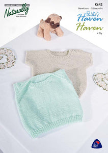 Knitting Pattern - Classic & Baby Haven 4Ply & 8Ply
