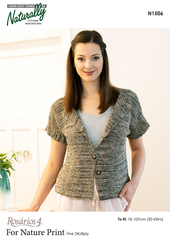 Knitting Pattern - For Nature Print Organic