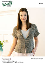 Load image into Gallery viewer, Knitting Pattern - For Nature Print Organic
