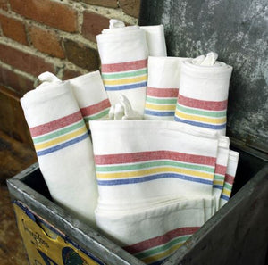 Retro Stripe Towels