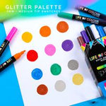 Load image into Gallery viewer, Glitter Paint Pens - Medium Tip