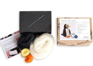 Needle Felting Kit - Penquin