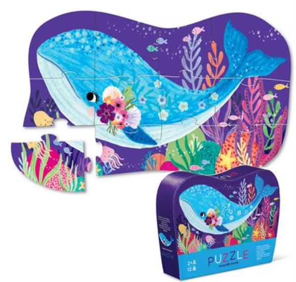 Croc Creek 12pc Mini Puzzle Whale Wonder