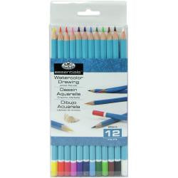 essentials Watercolour Pencils - 12pk