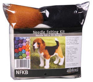 Needle Felting Kit -Beagle