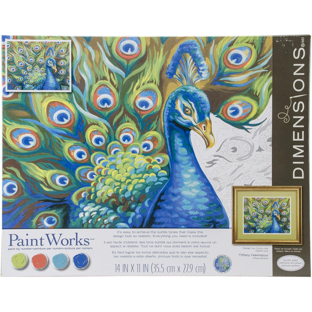 Paint by Numbers - Wild Feathers