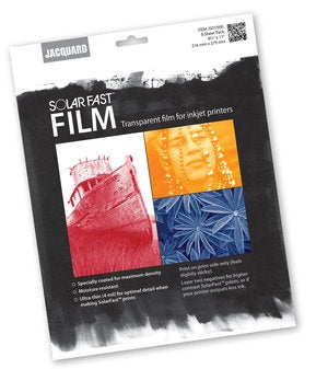 Jacquard Solarfast Film Pack - 8 Pack