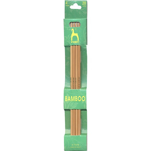 Bamboo Double Pointed Needles – 20cm