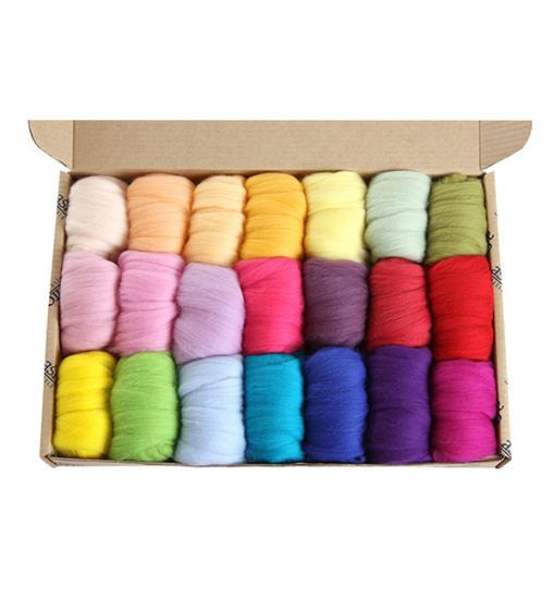 Fibre Sampler Pack - Merino Lights