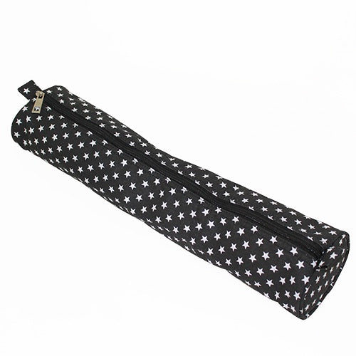 Black Star Print Knitting Pin Case