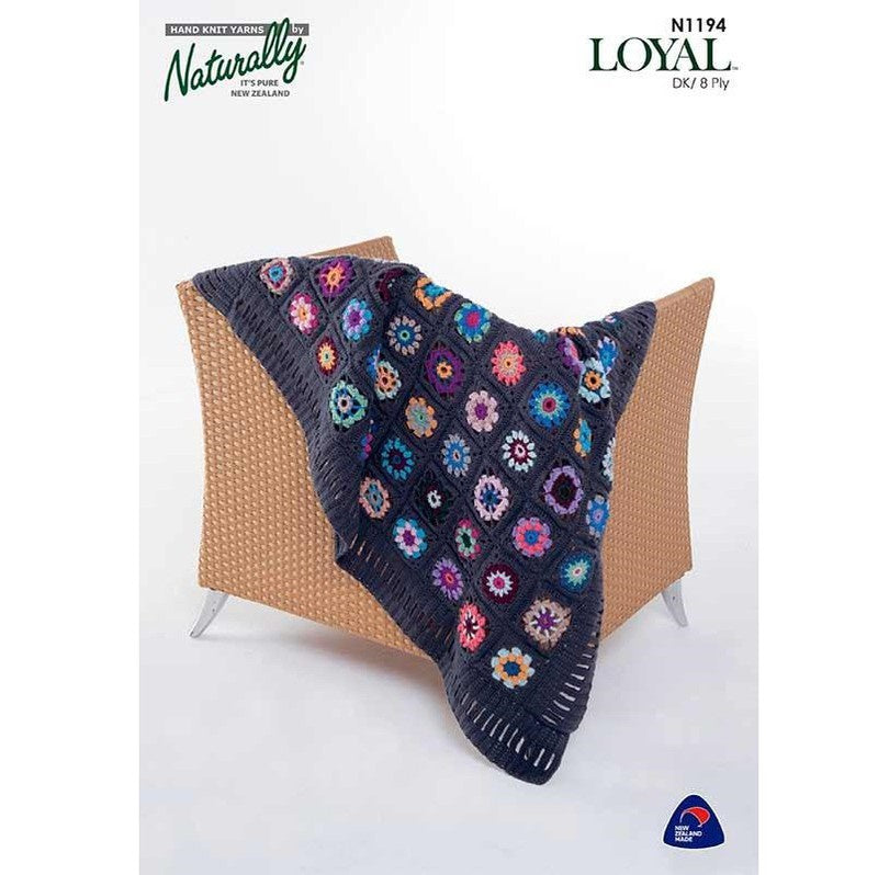 Crochet Pattern - Loyal 8ply