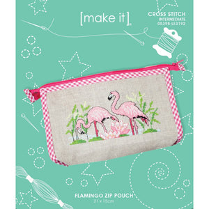 Flamingo Zip Pouch