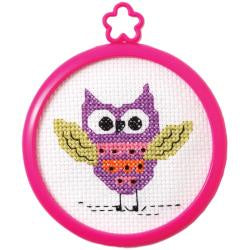 Counted Cross Stitch - Flying Owl