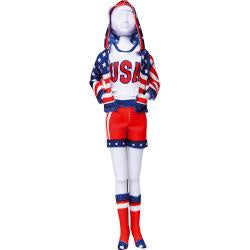 Dress Your Doll Making Couture Outfit Set - Sporty Stars & Stripes