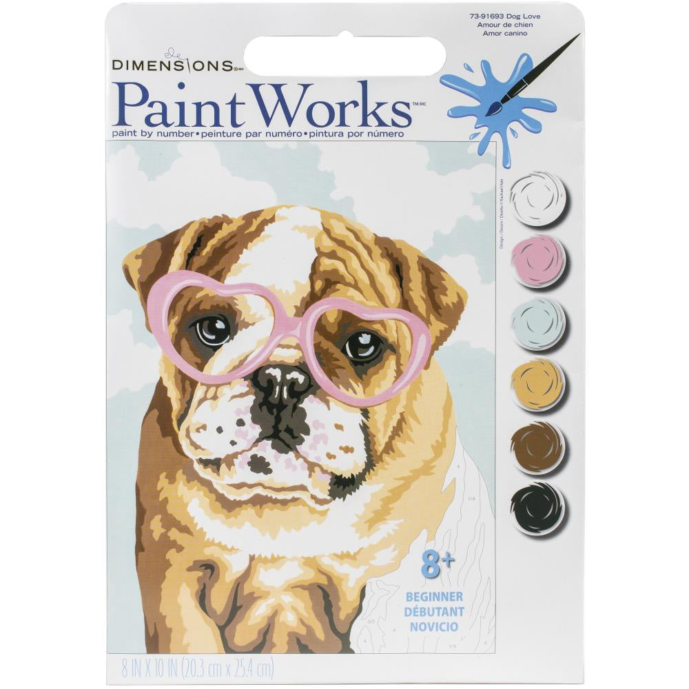 Paint by Numbers - Dog Love