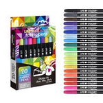 Load image into Gallery viewer, Fabric Pens - 20 Vibrant Colours