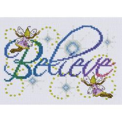 Counted Cross Stitch - Believe