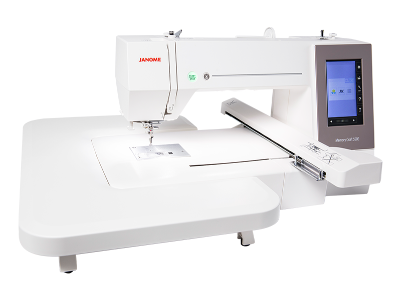 Janome - MC550E - Memory Craft