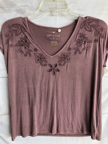 American Eagle Womens Short Sleeve Top Extra Small-5E291BB5-DFBF-404E-A39B-40F2F0FA61D1.jpeg