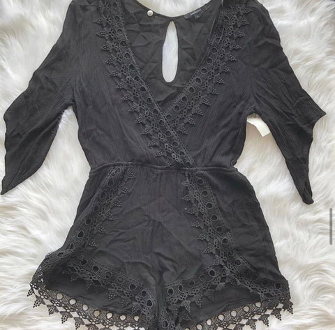 Ambiance Womens Romper Size Large