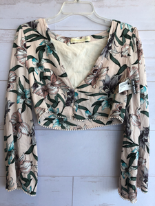 Long Sleeve Top Size Large