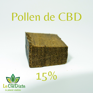 Pollen de CBD 15% Greenhouse/Indoor