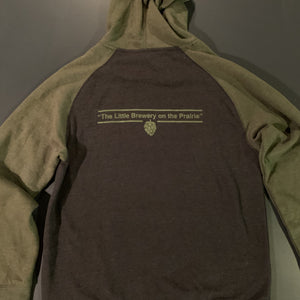 Half Pint Sweatshirt Gray/Green