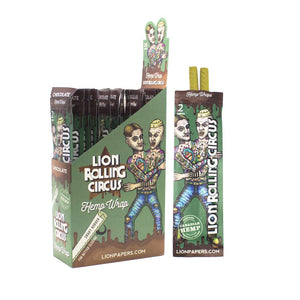 Lion Rolling Circus Hemp Wrap -