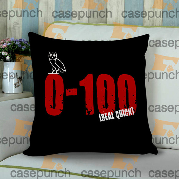 Sr9-0 To 100 Real Quick Drake Cushion Pillow Case