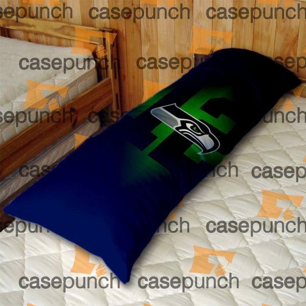An1-12th Man Seattle Seahawks Body Pillow Case