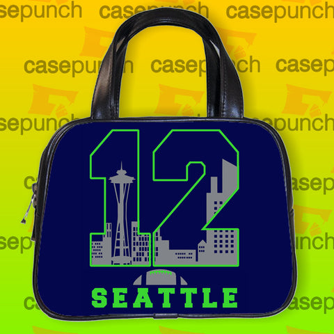 An1-12th Man Seattle Seahawks Handbag Purse Woman Bag Classic