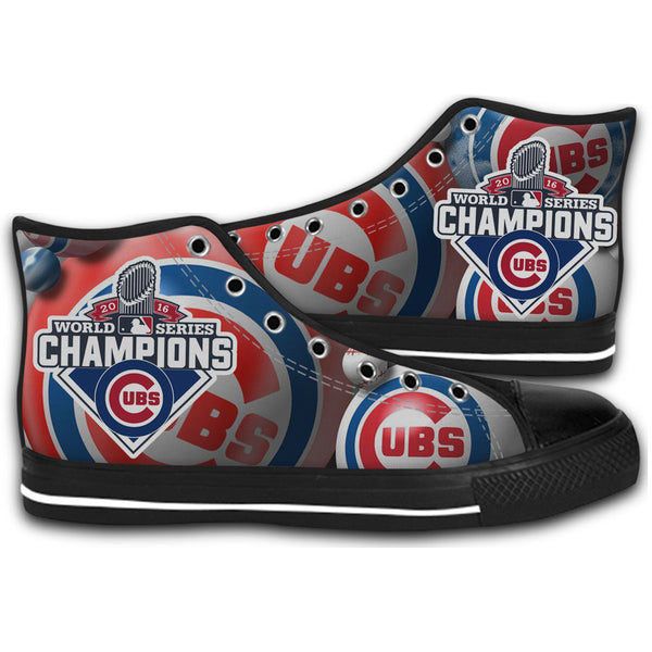 2016 World Series Champions Canvas Shoes Fashion Sneakers