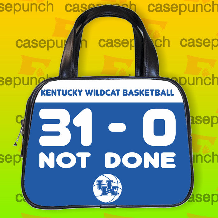 An1-31-0 Not Done Kentucky Wildcats Handbag Purse Woman Bag Classic