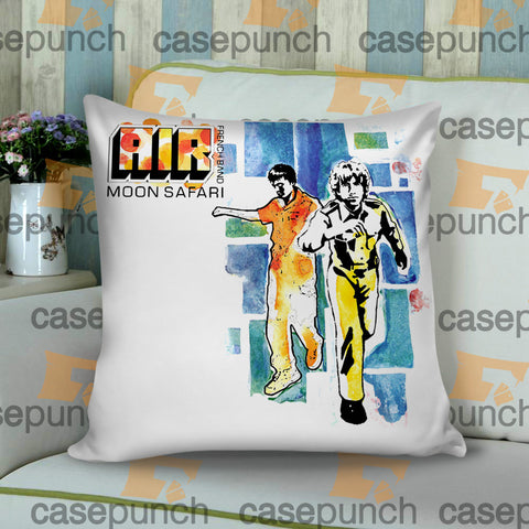 Sr1-air French Band Logo Cushion Pillow Case