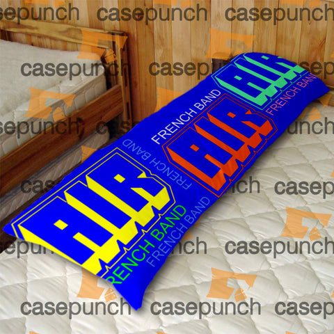 An1-air French Band Logo Body Pillow Case
