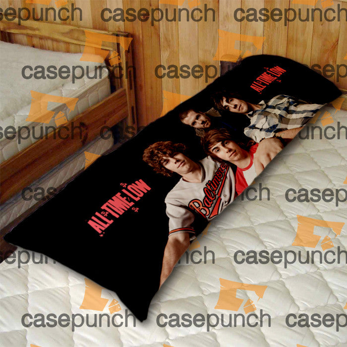 An1-all Time Low Punk Pop Band Body Pillow Case