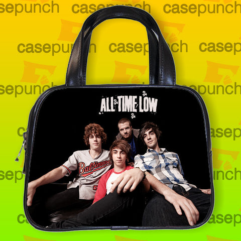 An1-all Time Low Punk Pop Band Handbag Purse Woman Bag Classic