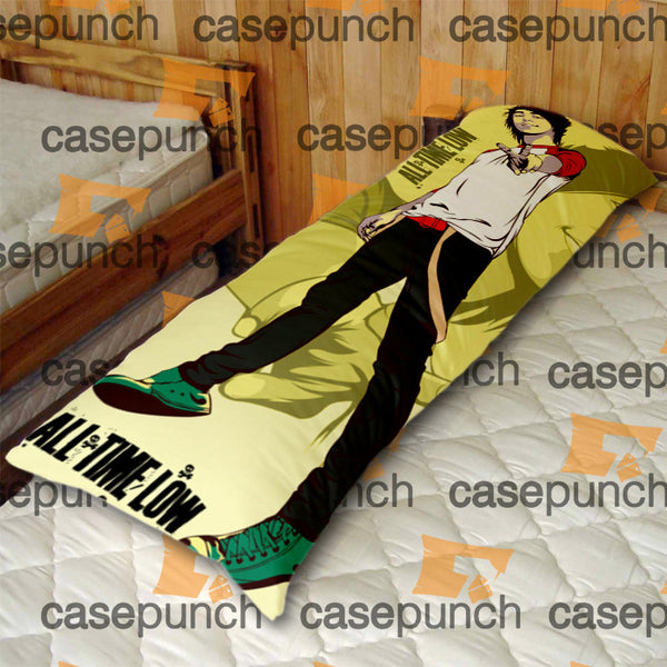 An2-all Time Low Punk Pop Band Body Pillow Case