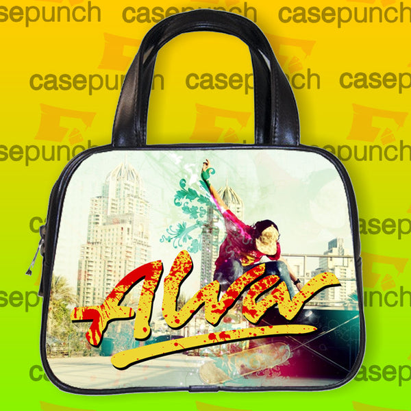 An1-alva Skateboard Skate Decks Logo Handbag Purse Woman Bag Classic