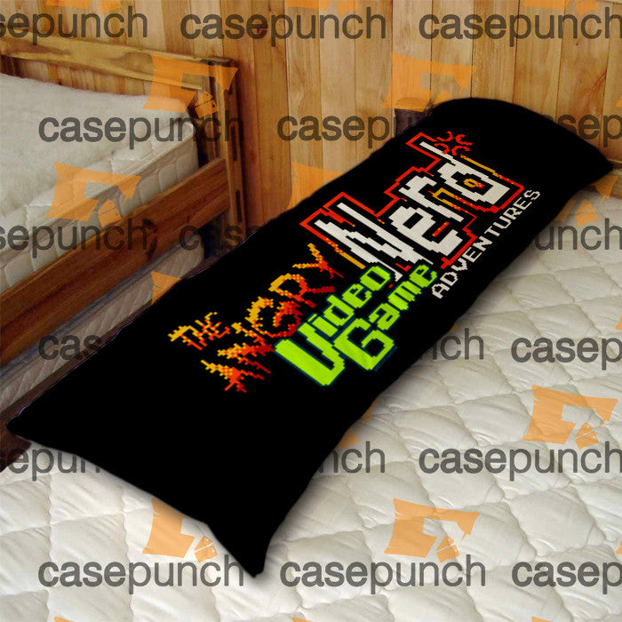 An1-angry Video Game Nerd Body Pillow Case