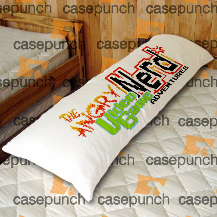 An2-angry Video Game Nerd Body Pillow Case