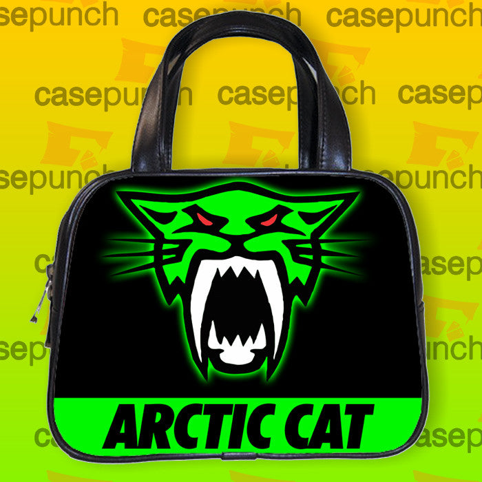 An1-arctic Cat Snow Mobile Logo Handbag Purse Woman Bag Classic