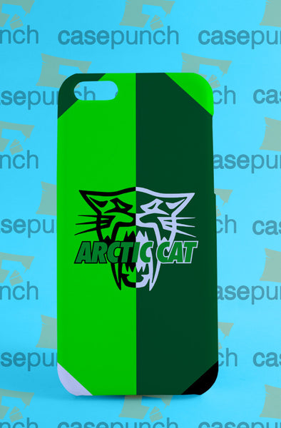 Mz1-arctic Cat Snow Mobile Logo For Iphone 6 6 Plus 5 5s Galaxy S5 S5 Mini S4 & Other Smartphone Hard Back Case Cover