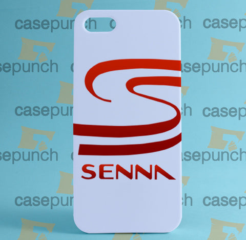 Mz1-ayrton Senna Brazil F1 Logo For Iphone 6 6 Plus 5 5s Galaxy S5 S5 Mini S4 & Other Smartphone Hard Back Case Cover