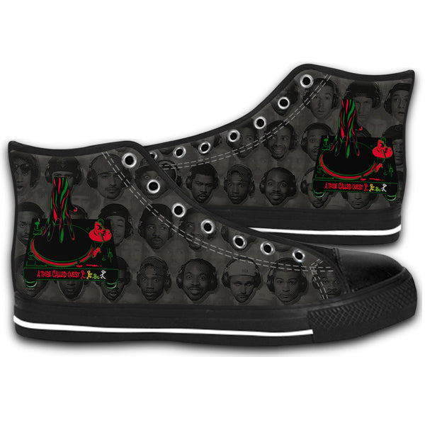 A Tribe Called Quest Mixtape Logo Rap Canvas Shoes Fashion Sneakers