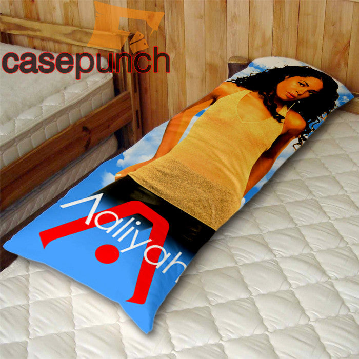 An2-aaliyah Solo Classic Rnb Body Pillow Case