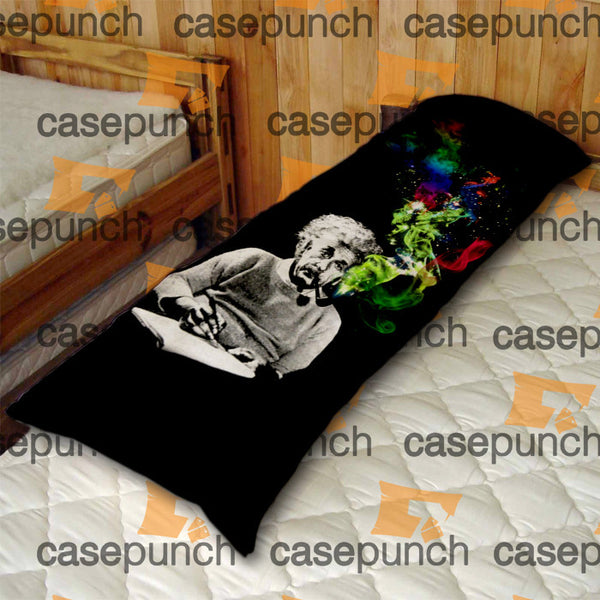 An1-albert Einstein Smoking Universe Cosmos Body Pillow Case